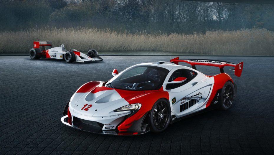MSO ha creado este McLaren P1 GTR como tributo al MP4/4 original de Ayrton Senna