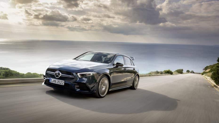 Nueva galería de imágenes del Mercedes-AMG A 35: Esta estrella sí que deslumbra