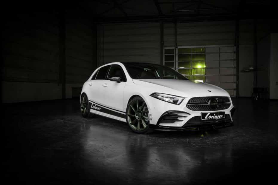 La gama del Mercedes-Benz Clase A ahora más atractiva y poderosa gracias a Lorinser