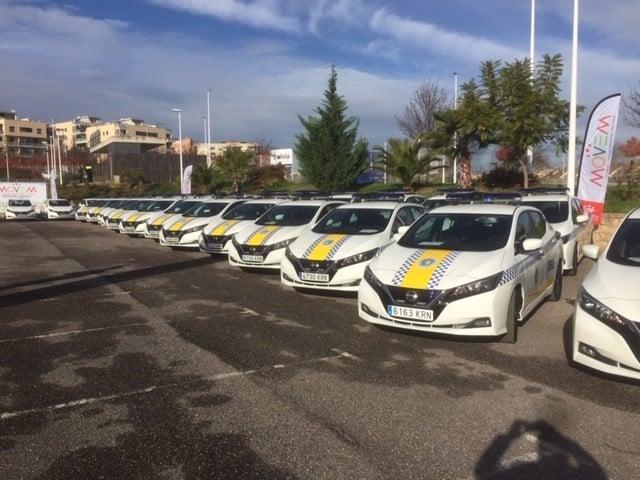 La Diputación Provincial de Badajoz cree que el Nissan LEAF es el coche perfecto para la policía: ¿Tú qué opinas?
