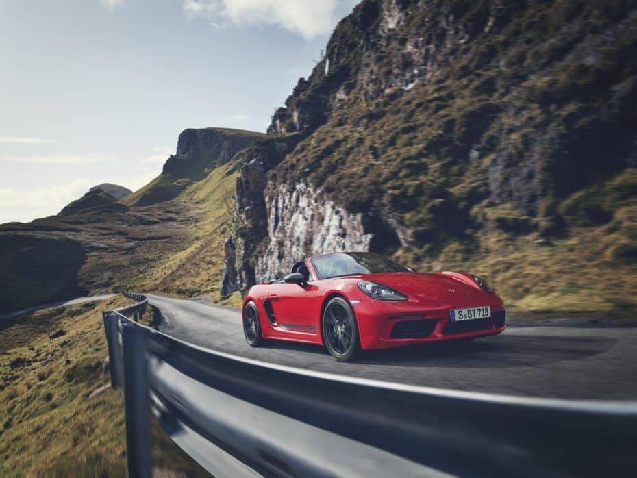 ¡Oficial! El Porsche 718 T es un deportivo para los amantes de la conducción con 300 CV de potencia