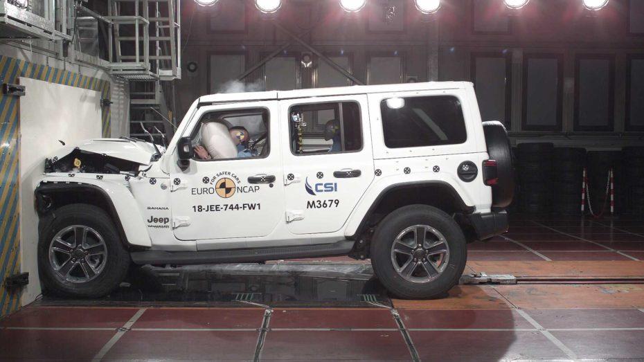 Nueva tanda de pruebas de choque Euro NCAP: Sólo una estrella para el Jeep Wrangler