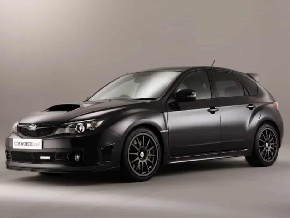 El Subaru-Cosworth Impreza STI CS400 es toda una rareza con casi 400 CV y solo 75 unidades