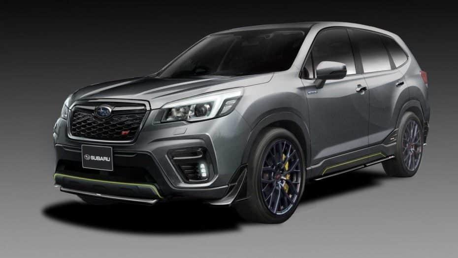 El Subaru Forester STI concept y el Impreza STI concept debutarán en el Tokyo Auto Salon ¡Y lucen así de bien!