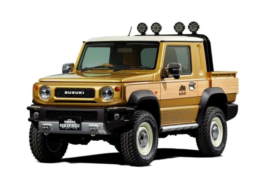 El Suzuki Jimny pick-up es oficial… pero solo un prototipo