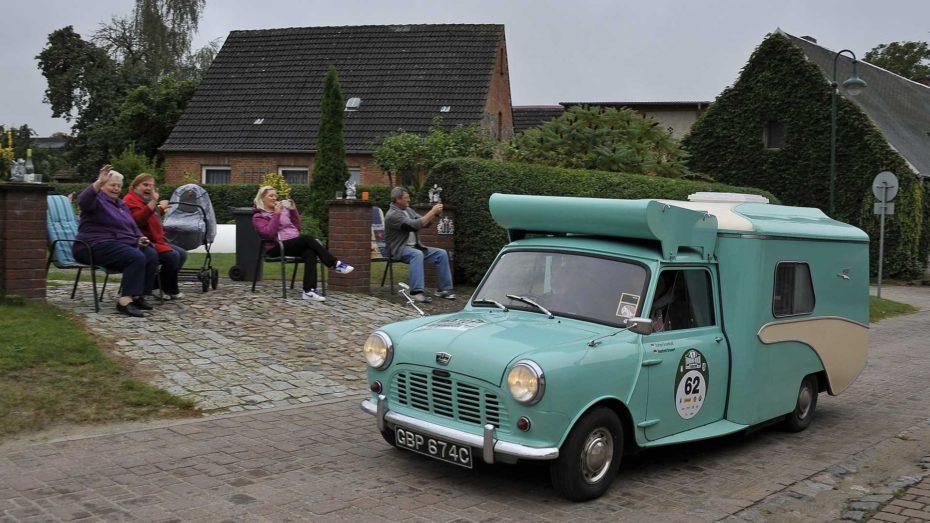 ¿Un Mini clásico transformado en autocaravana? Existió en los '60 y su nombre es 'The Wildgoose'