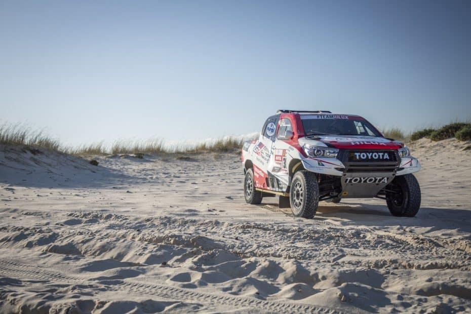 El Toyota Hilux y sus tres pilotos estrella vuelven con las pilas cargadas al Dakar 2019