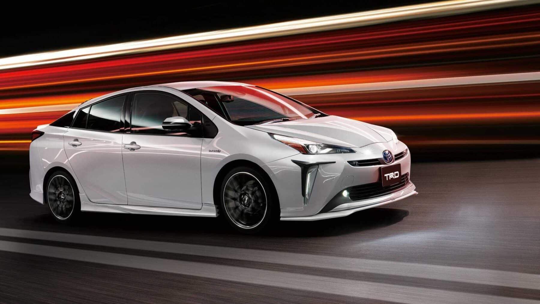 El Toyota Prius 2019 Se Viste De Gala Gracias A Trd Y