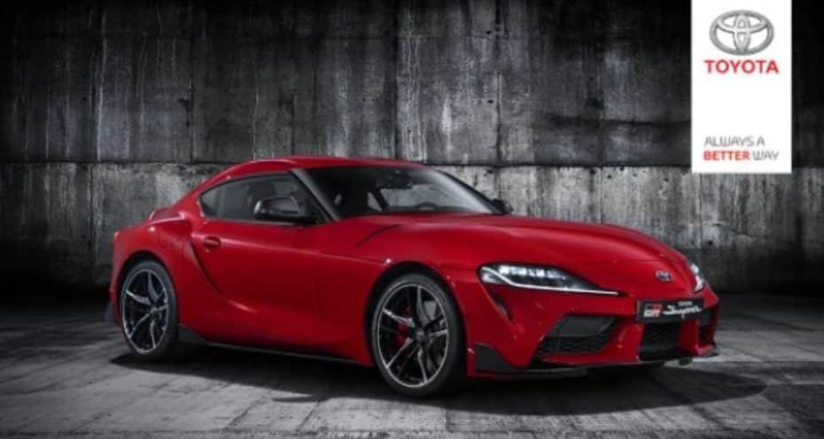 ¿Filtrado por descuido?: Así es el Toyota Supra 2019
