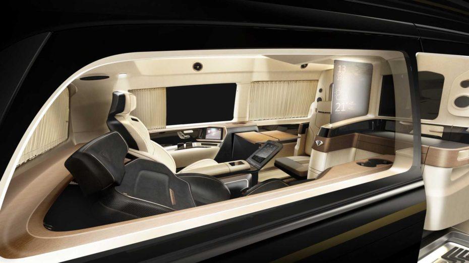 Vulcanus es la sala de estar sobre ruedas en la que querrías pasar tus días ¡Y es obra de Italdesign!