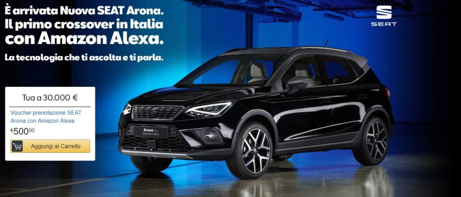 Nuevo SEAT Arona «Amazon»: Exclusivo para Italia
