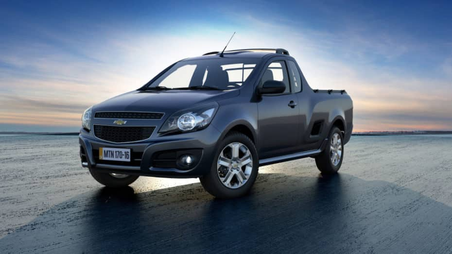Chevrolet lanzará un pick up pequeño: Sucesor del Montana