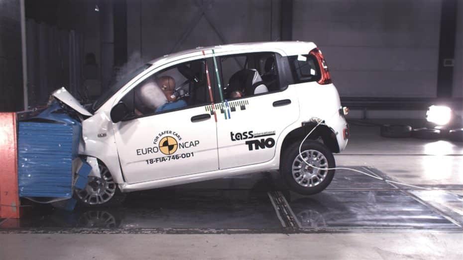 El Fiat Panda la lía: Cero estrellas en las pruebas de choque Euro NCAP