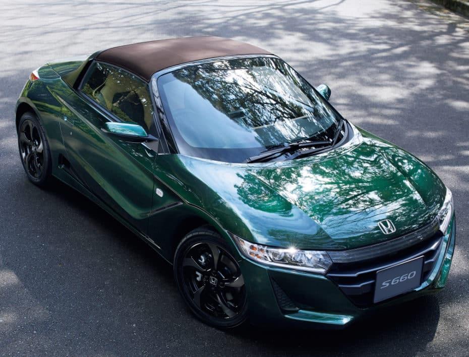 """Nueva serie especial """"Trad Leather Edition"""" para el coqueto Honda S660"""