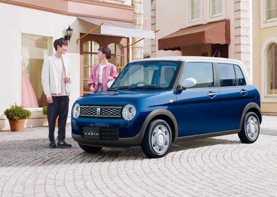 "Nuevo Suzuki Lapin ""Mode"": Toque retro para el urbanita"