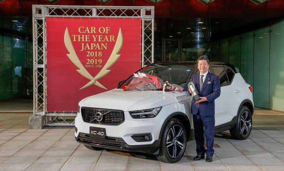 """El Volvo XC40 es coche del año en Japón: El tercer coche """"no japonés"""" premiado en 38 años"""