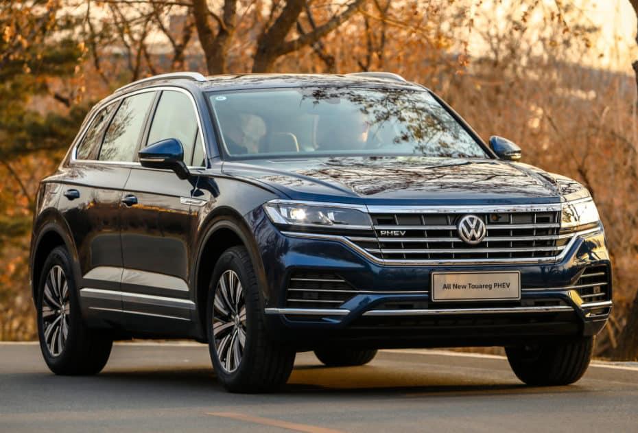 Así es el Volkswagen Touareg PHEV