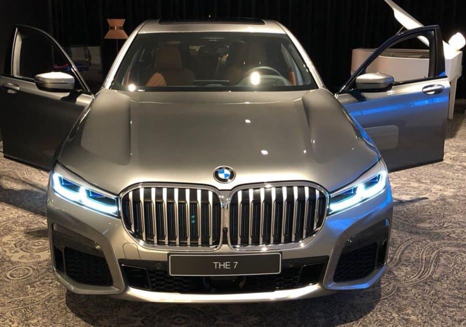Más detalles del renovado BMW Serie 7: Tecnología punta y novedades derivadas del X7