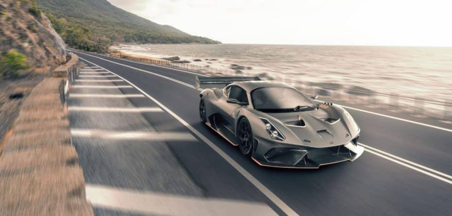 Brabham Automotive anuncia una conversión del BT62 para que pueda rodar por la vía pública