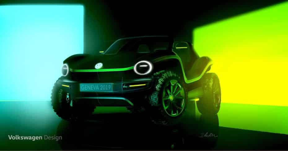 Volkswagen con planes de revivir los buggies americanos de los años 60 y 70 con un concepto eléctrico