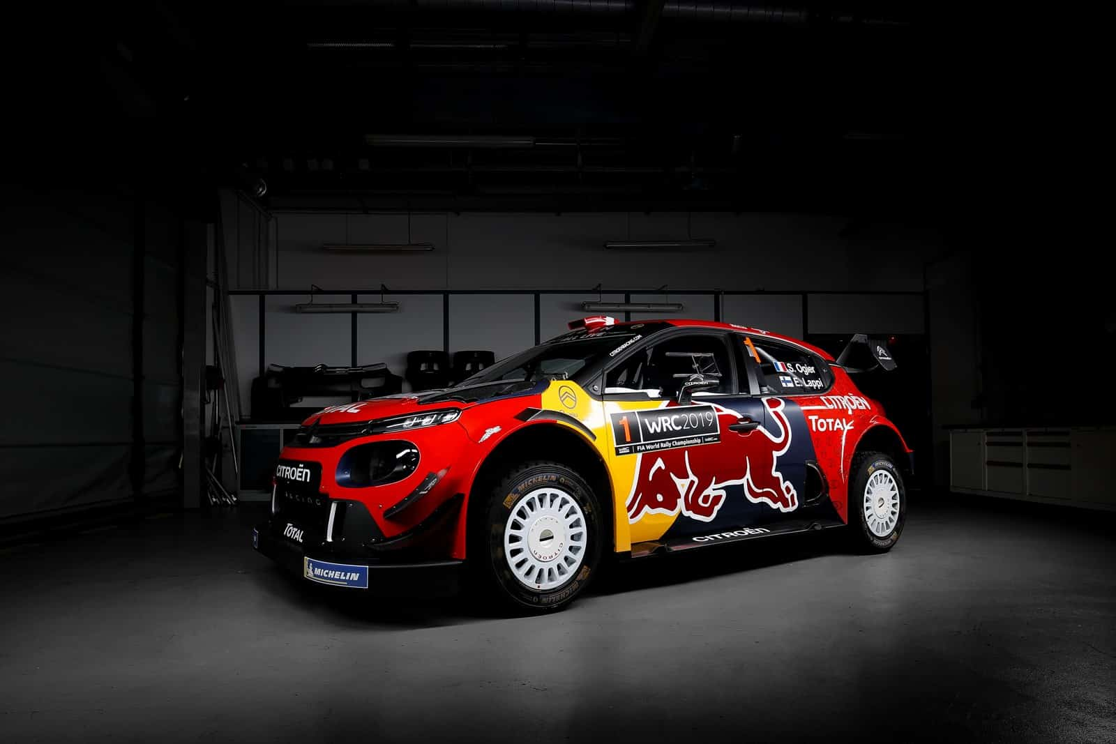 citro n total world rally team presenta el c3 wrc para 2019. Black Bedroom Furniture Sets. Home Design Ideas