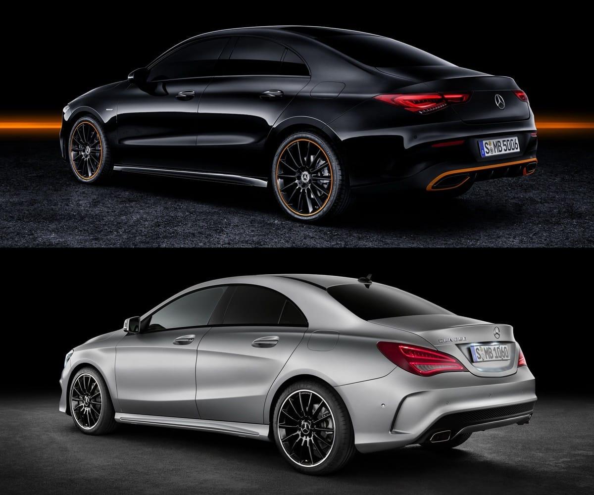 Mercedes Benz Cla: Comparativa Visual Mercedes-Benz CLA 2019