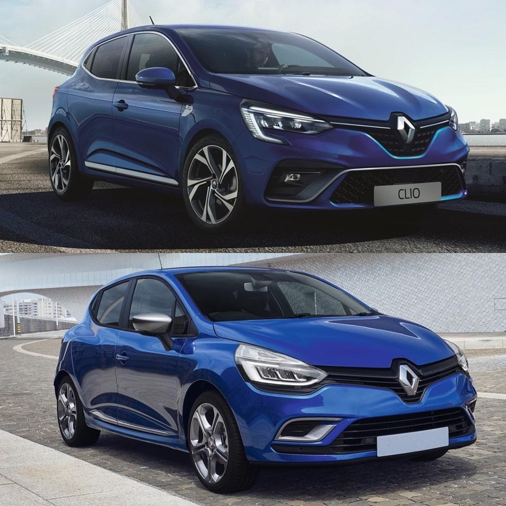Renault Clio 4: Comparativa Visual: ¿Ha Cambiado Tanto El Renault Clio 2019?