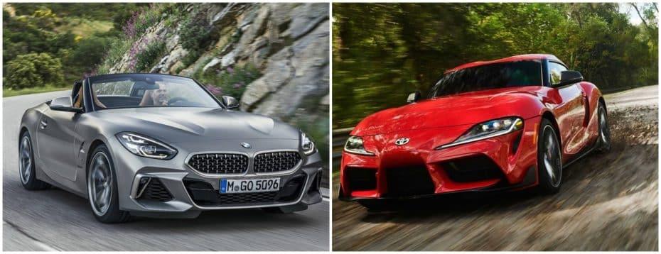 Comparación visual: ¿Es el Toyota Supra el BMW Z4 Coupé que por ahora no veremos?