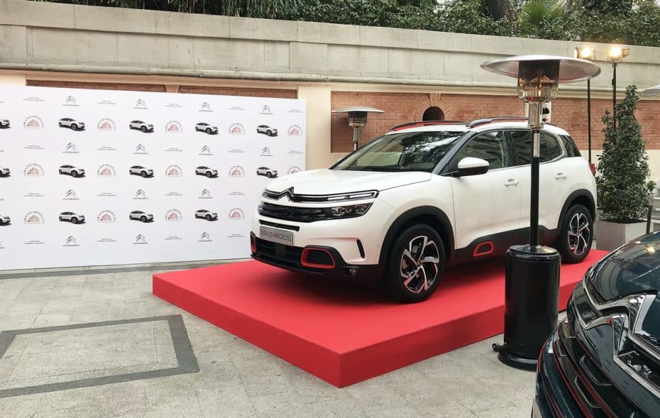 El Grand Hotel C5 Estrellas te permitirá conocer a fondo el Citroën C5 Aircross este fin de semana