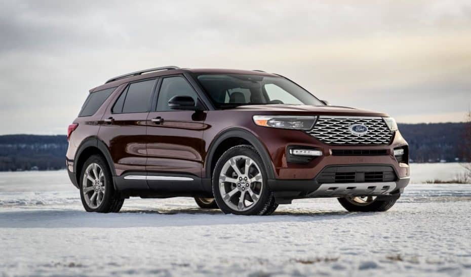 Así es el Ford Explorer 2020 que no veremos en nuestro mercado…