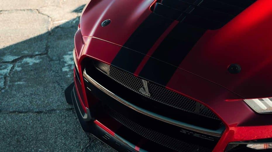 Estas franjas decorativas del Ford Mustang GT500 cuestan lo mismo que un Dacia Sandero