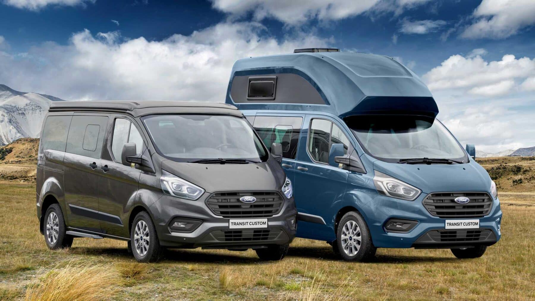 ford transit custom nugget 2019 nueva alternativa camper. Black Bedroom Furniture Sets. Home Design Ideas