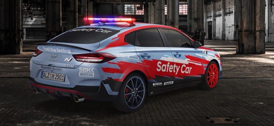 El Hyundai i30 Fastback N se viste de Safety Car para el WorldSBK