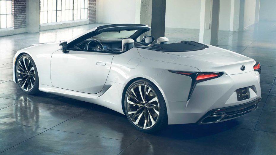 Lexus LC Convertible Concept: Desearás ver esta preciosidad en la carretera