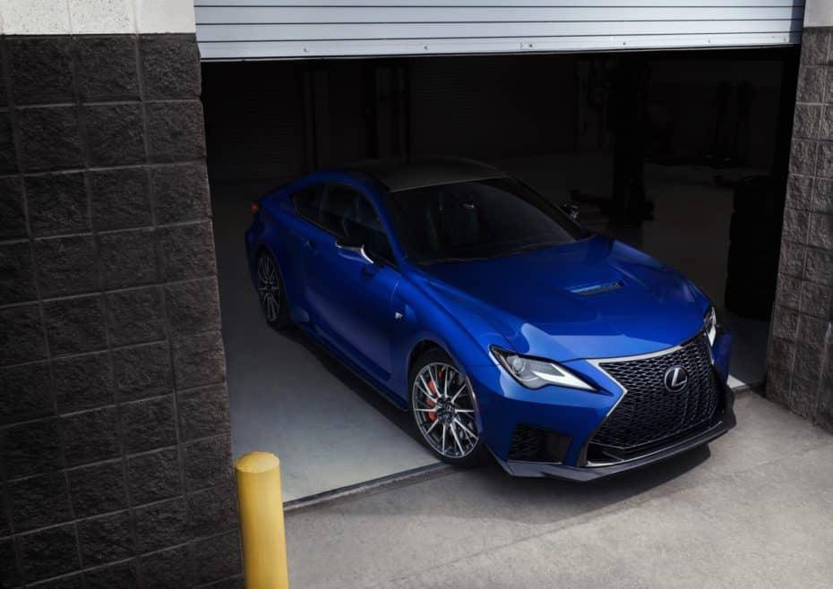 Así el Lexus RC F 2019: Algunas mejoras, más potencia y una mejor puesta a punto