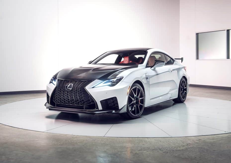 Lexus RC F Track Edition: Limitado, más ligero y con mejor aerodinámica