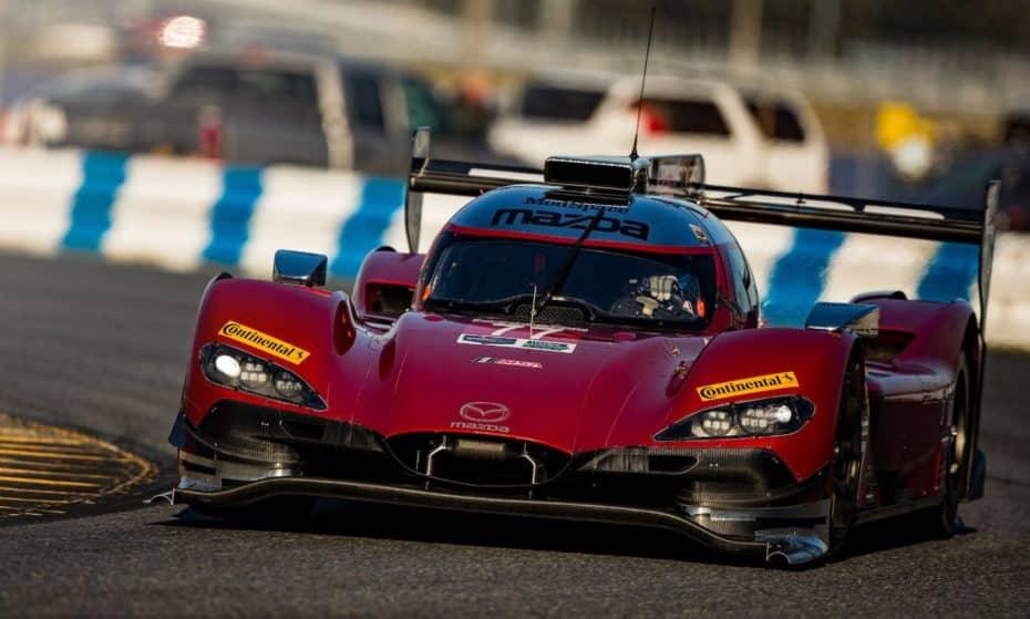 El Mazda RT24-P se alza con el récord de vuelta en Daytona tras 26 años en manos de Toyota