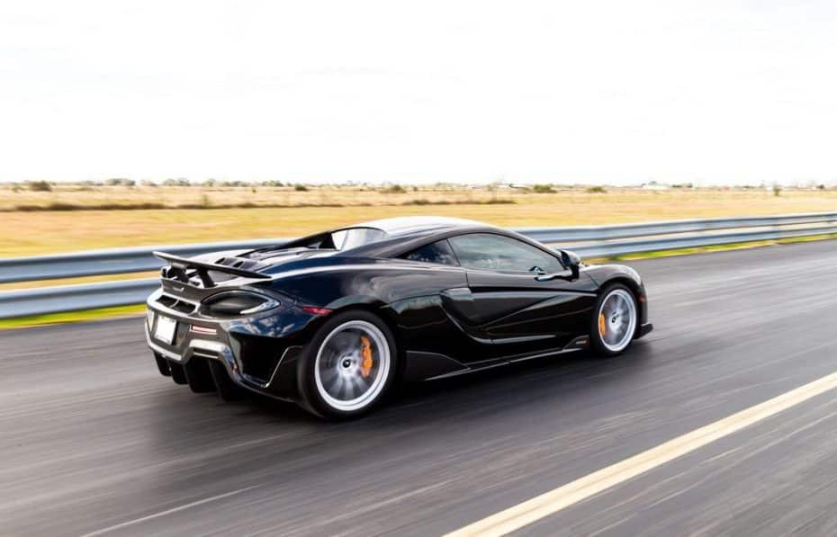 Hennessey está preparando un McLaren 600LT HPE800: Más de 800 CV para la élite británica