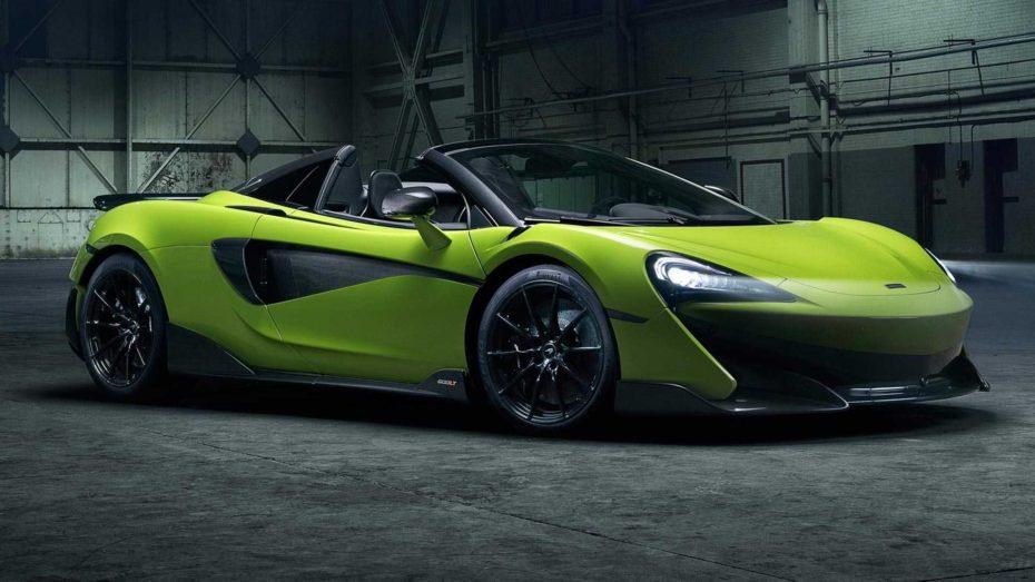 McLaren 600LT Spider: Lo más radical de la Sport Series, también a cielo abierto