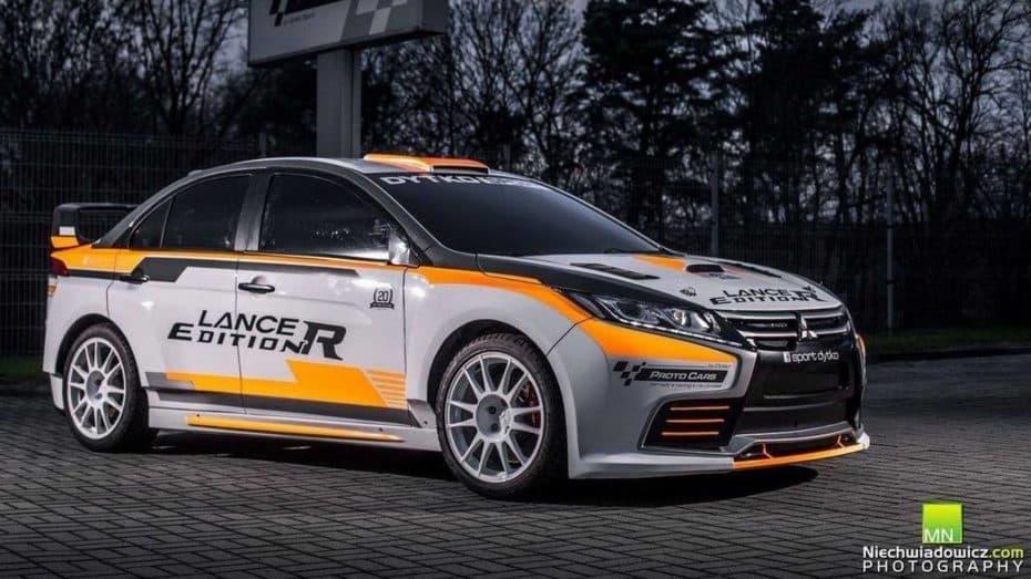 El Mitsubishi Lancer Edition R de Dytko Sport es el nuevo Evolution que jamás veremos