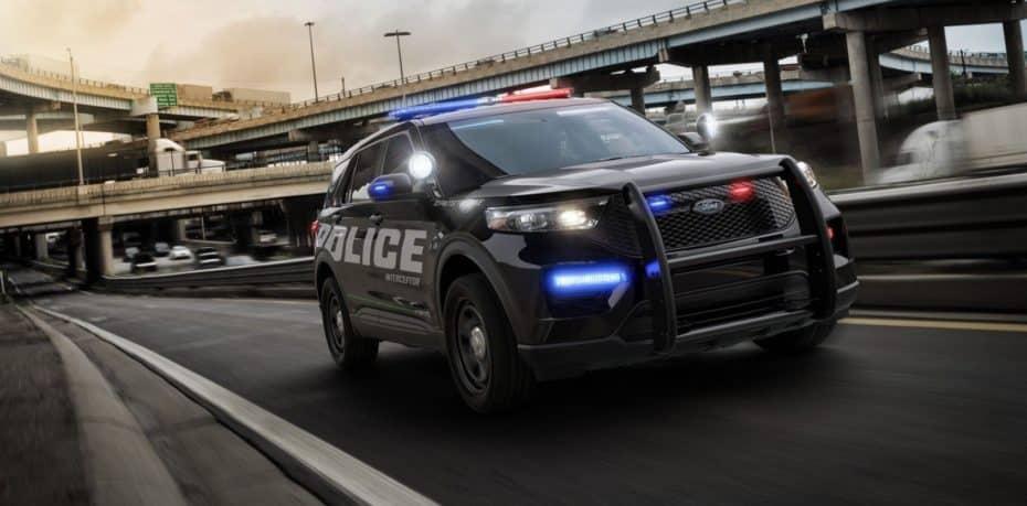 ¡Salvaje!: El nuevo vehículo policial de EE.UU. puede resistir impactos traseros a 120 km/h