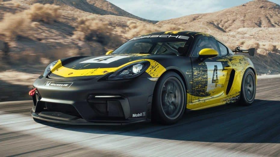 Porsche 718CaymanGT4 Clubsport 2019: Carrocería de biofibra, 40 CV extra y dos versiones