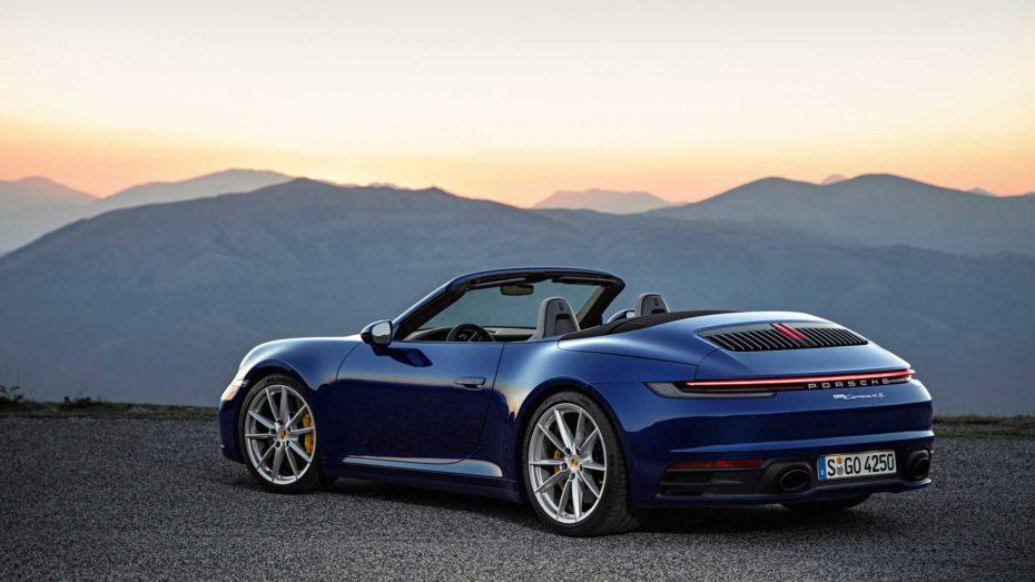 Porsche 911 Cabrio 2019: Tecnología y deportividad con la melena al viento