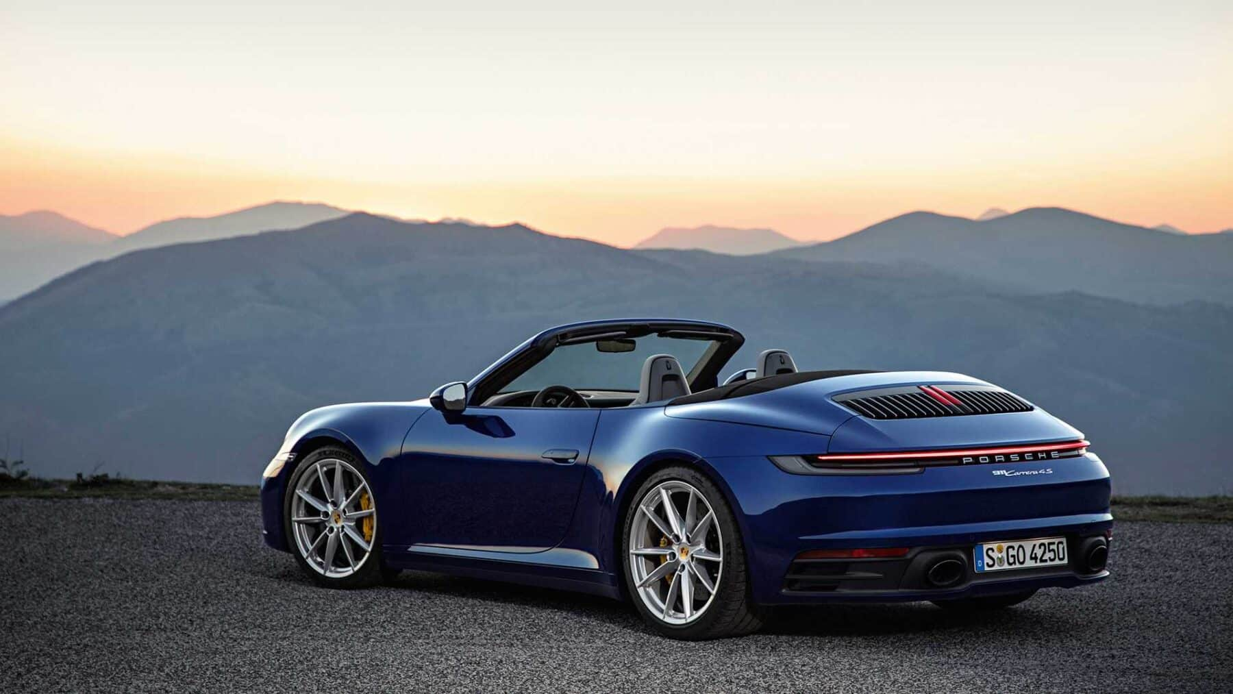 porsche 911 cabrio 2019 tecnolog a y deportividad con la. Black Bedroom Furniture Sets. Home Design Ideas