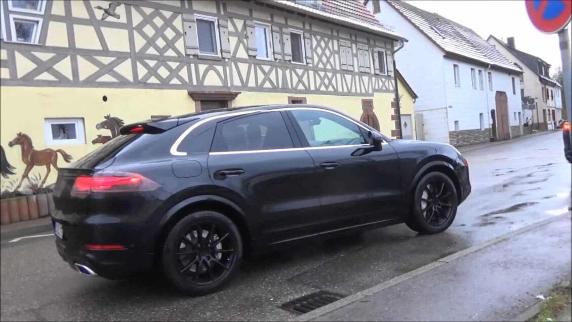 El Porsche Cayenne Coupé llegará al mercado este año y aquí tienes la prueba de ello
