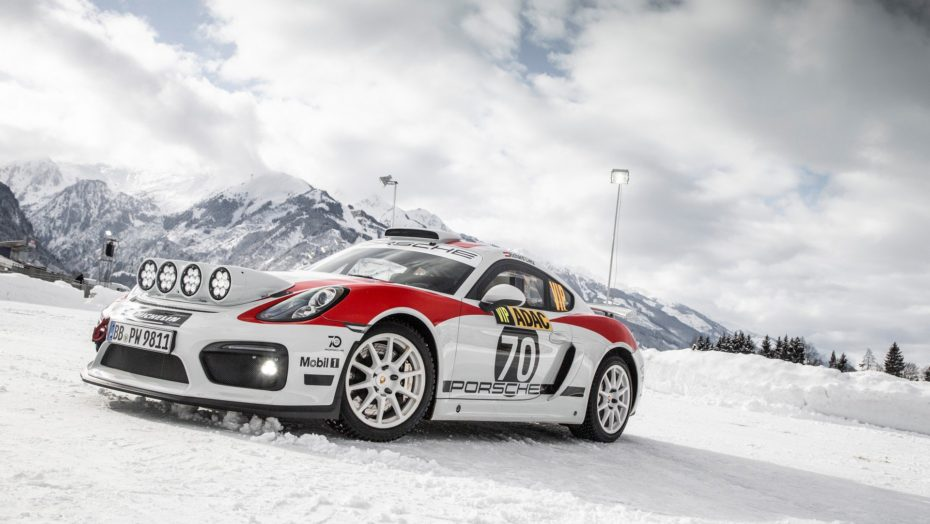 El Porsche Cayman GT4 Clubsport Rally llegará a producción: Lo veremos el próximo año