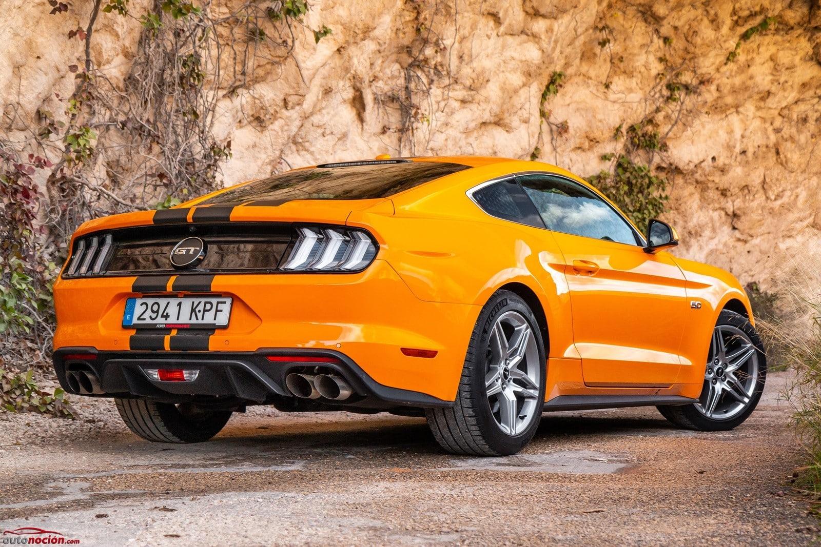 53ca00a6 En medidas, el Ford Mustang GT alcanza los 4.79 metros de largo, 1.92  metros de ancho y 1.38 metros de alto, por lo que no hablamos de un coche  precisamente ...