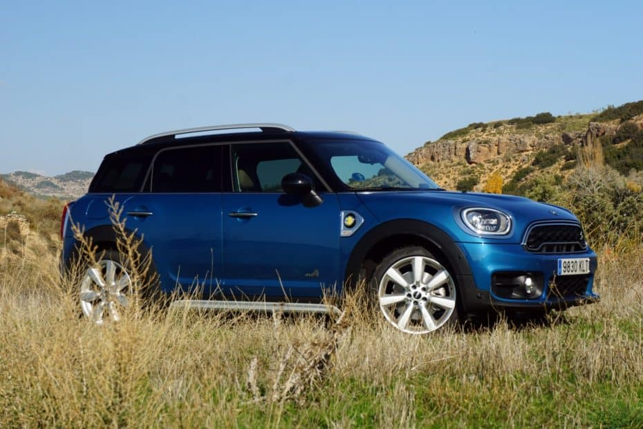Prueba MINI Countryman Cooper S E All4: Gasto variable y 224 CV ocasionales