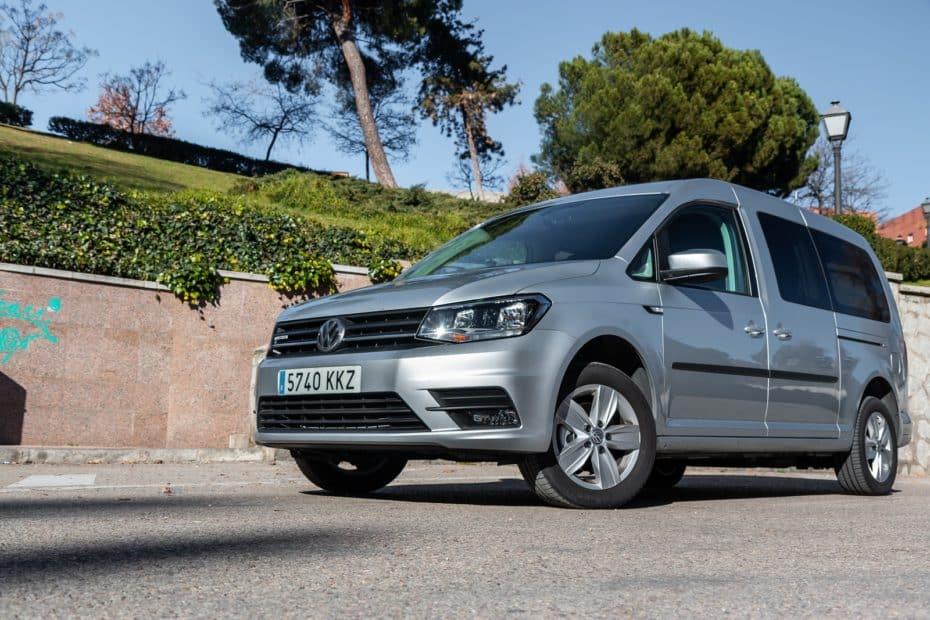 Prueba Volkswagen Caddy Maxi Trendline GNC 110 CV DSG: Mucho espacio con pegatina ECO