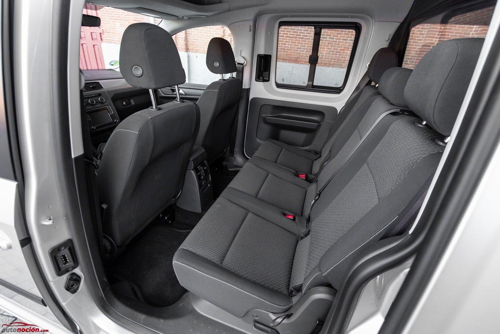 Opinion Y Prueba Volkswagen Caddy Maxi Gnc 110 Cv Dsg 2019